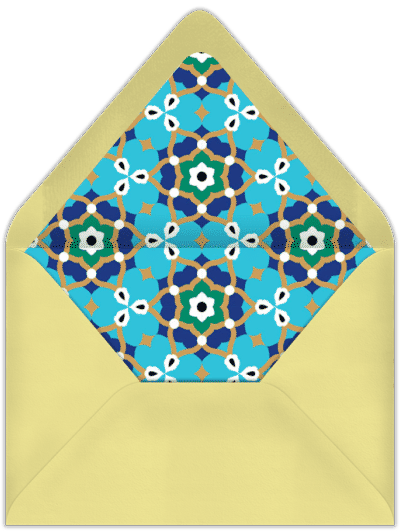 پاکت کارت پستال تبریک جشن تکلیف