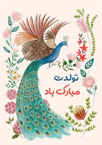 تولد مبارک گل و طاووس